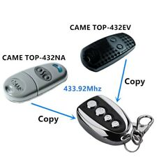 433Mhz Duplicator Copy Remote Control For CAME TOP 432EV 432NA Garage Door Gate