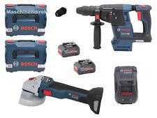 Bosch Akku Winkelschleifer GWS 18V-10SC + Akku Bohrhammer GBH 18V-26 F + ProCore