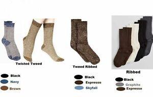 Hue Women's Socks Bootique Tweed Ribbed/ Twisted Tweed or Ribbed Boot Socks