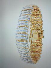 7 In + Free Hoop Earrings! Womens 2.00Ctw Natural Diamond Tennis Bracelet Sz
