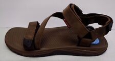 Columbia Size 8 Brown Leather Water Sport Sandals New Mens Shoes
