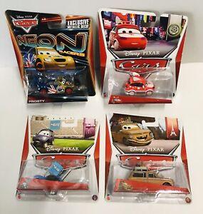 Disney Pixar Cars Lot Of 4 - BNIB 2013 - Frosty, Lubewig,Matthew, & Harumi.