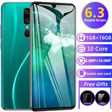"""6.3"""" 16.0MP HD Camera Android Smart Phone 16G Rom 3G Call Mobile Phone Unlocked"""