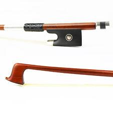 NEW 4/4 Size Pernambuco Violin Bow,Natural Mongolia Horsehair Ebony Frog