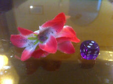 Claire's Claires Accessories Official Head Hair Clip Pink White Flower £2.50 RRP