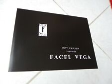Facel Vega Excellence HK500 1959 USA catalogue brochure prospectus réédition
