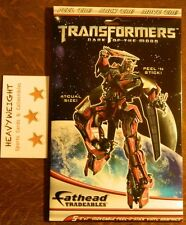 "TRANSFORMERS ""DARK OF THE MOON"" FATHEAD TRADEABLES (5) 5x7 PEEL N STICK GRAPHICS"