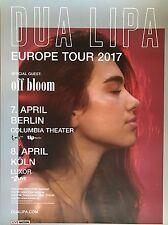 DUA LIPA  2017  TOUR  ++ orig.Concert Poster ++ Konzert Plakat  A1 NEU