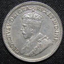 1920 Canada 5 Cents Silver Coin