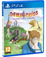 Demetrios the Big Cynical Adventure Red Art Games PlayStation 4 Region Free New