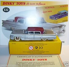 DINKY TOYS ATLAS LINCOLN PREMIERE 1959 GRISE REF 532 IN BOX