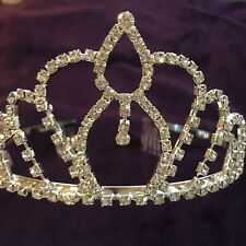 (111217)New Crystal Crown Tiara Jewelry Headband Wedding Party Accessories