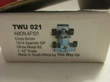 TWU THIS WAY UP 1/43 AMON AF 101 SPANISH GP 1974 CHRIS AMON  TWU021