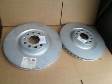 NEW GENUINE AUDI S3 VW GOLF R32 EOS FRONT BRAKE DISCS 345 X 30 PAIR 1K0615301M