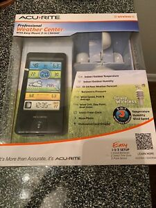 ACURITE PROFESSIONAL WEATHER CENTER, 3 IN 1 SENSOR WIRELESS 0043DIAI BRAND NEW