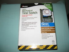 WESTEK INDOOR MECHANICAL TIME SWITCH TM101 POOLS/SPAS/FOUNTAINS-NEW