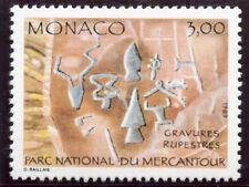 TIMBRE DE MONACO N° 1665 ** INSCRIPTION RUPESTRE / OUTILS