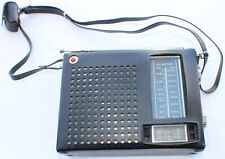 Vintage JVC Nivico AM/FM Transistor radio Working Clean Model 8203 with Case/Ear