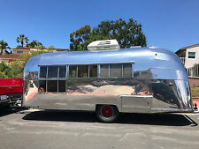 "Vintage Airstream- 1957 13-panel ""window wall"" Caravanner"