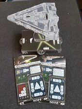 Star Wars Armada - Imperial Light Carrier Quasar Fire Barebones NO UPGRADE CARDS