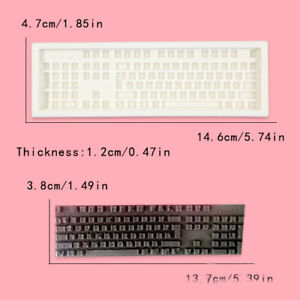 Keyboard Silicone Fondant Chocolate Mould Cake Decorating Sugarcraft Cookie Mold