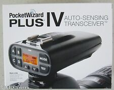 NEW!!!  PocketWizard Plus IV Transceiver Pocket Wizard -  PW-PLUS4-FCC