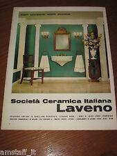 AG15=1963=LAVENO CERAMICA ITALIANA SOCIETA'=PUBBLICITA'=ADVERTISING=WERBUNG=