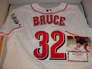 Jay Bruce signed Cincinnati Reds jersey - Tristar Authentic- 2011, 2012 All Star