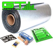 GTMAT Pro 50mil 10 SqFT Car Sound Deadener Noise Deadening Mat w/ Dynamat Roller