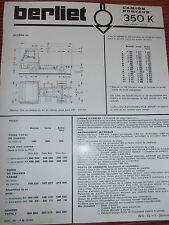 PUB CAMION BERLIET 350 K ( ref 48 )