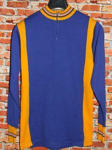 Shirt Bike Shirt Maillot Cycling Heroic Vintage 70'S 80% Wool