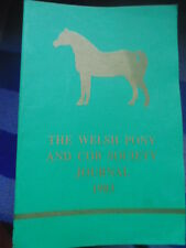 THE WELSH PONY AND COB SOCIETY JOURNAL 1983