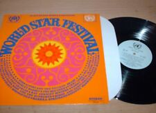 Various - World Star Festival - In Aid Of The Worlds Refugees - LP Record  NM NM