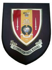 43 Commando Royal Marines Military Shield Wall Plaque
