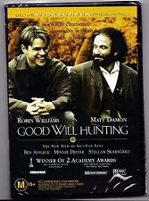 Robin William - Good Will Hunting Deluxe Widescreen edition DVD Sealed Australia