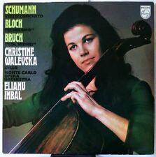Schumann, Bloch, Bruch Chello Concerto (6500 160)  by Christine Walevska