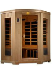 Golden Designs 3 Person Low EMF Far Infrared Sauna 9 Carbon Heaters NEW Dynamic