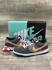 Nike SB Dunk Low Premium QS Beijing Men Size 10.5 Grey Gold Red OG 504750-077