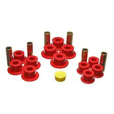 Energy Suspension Leaf Spring Bushing 3.2141R; Red Polyurethane