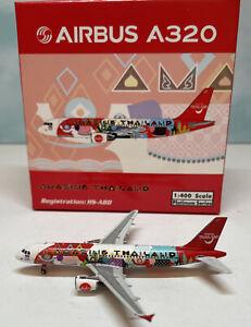 Phoenix 1:400 Thai AirAsia A320 HS-ABD Amazing Thailand Airbus