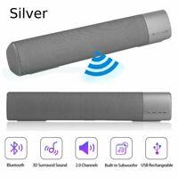 TV Soundbar Space Sound Sound Bar Wireless Bluetooth Home Theater Speaker US MY