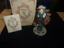 """Candice w/ Matthew.Gathering Apples"" Boyds Yesterdays Child #3514 with box"