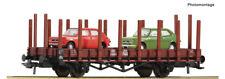 Roco 76764, Rungenwagen mit Beladung, PKP, Neu und OVP, H0