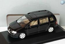 RARE VW TOURAN 1T 2.0 TDI SPORT DEEP BLACK 1:43 MINICHAMPS (DEALER MODEL)