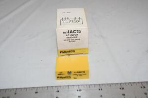 ECG RLYIAC15 AC Input Module Logic Voltage 15VDC I/O Module RIM-IAC15 New