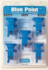 New Rail Models - Blue Point™ Turnout Controller -- pkg(5)