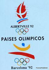 Yt 2760 BARCELONA    FRANCE JEUX OLYMPIQUES ALBERTVILLE FDC ENVELOPPE 1° JOUR