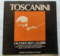 OUVERTURES CELEBRI MOZART LP ARTURO TOSCANINI 33 GIRI VINYL ITALY 1980 NM/NM