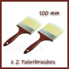 2 x 10 cm    Paint Brushes  Bristle Painting  4  Inches Wide Large  100 mm