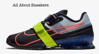 "Nike Romaleos 4 ""Blackened Blue/Deep Roy"" Men's Trainers Limited Stock All Sizes"